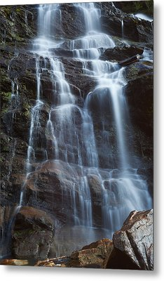 Steall Falls Metal Print