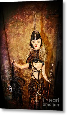 Steampunk - The Headhunter Metal Print by Paul Ward