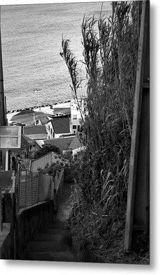 Step Down Metal Print