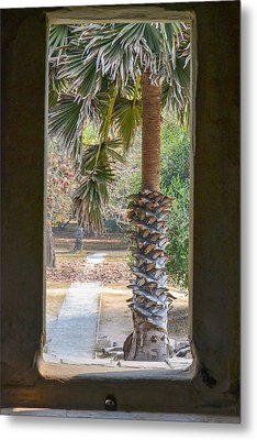 Step Through Metal Print
