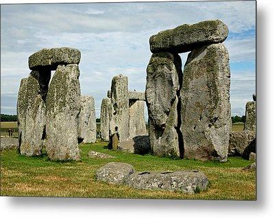 Stonehenge Metal Print by Derek Sherwin