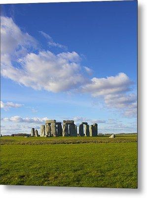 Stonehenge  Metal Print by Jennifer Lamanca Kaufman