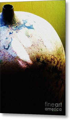 Storing For The Future Metal Print by Kandayia Ali