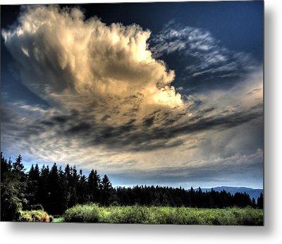 Storm Approaching Metal Print