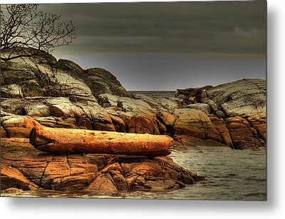 Storm Brewing Metal Print by Randy Hall