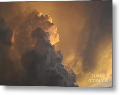 Storm Clouds Metal Print