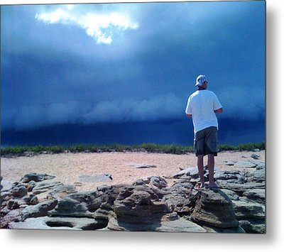 Storm Gazer Metal Print by Julie Wilcox
