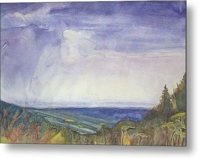 Storm Heaves - Hog Hill Metal Print