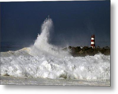 Storm Waves Metal Print by Boon Mee