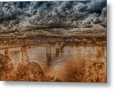 Stormy Clouds Metal Print by Dennis Baswell