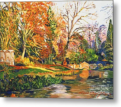 Stowe Garden Dream Metal Print