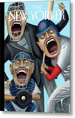 Strike Zone Metal Print