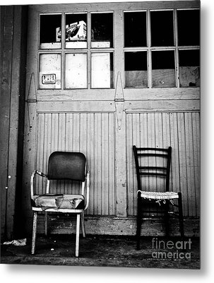 Strip District Doorway Number Eight Metal Print by Amy Cicconi