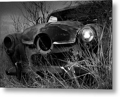 Metal Print featuring the photograph Studebaker  by Jim Vance