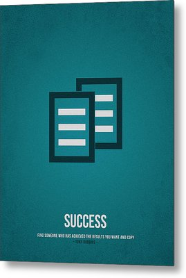 Success Metal Print by Aged Pixel