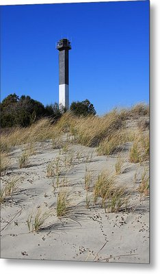 Sullivan's Island Lighthouse Metal Print by Mountains to the Sea Photo