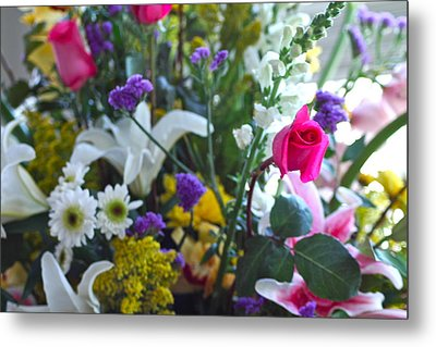 Summer Bouquet Metal Print by M West