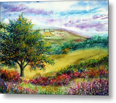 Summer Days Metal Print by Ann Marie Bone