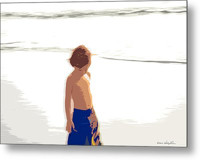 Summer Days Metal Print by Kathy Ponce