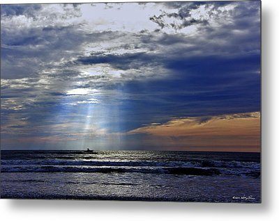 Summer Morning Charter Metal Print by Kathy Ponce