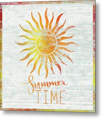 Summer Time Metal Print by Cora Niele