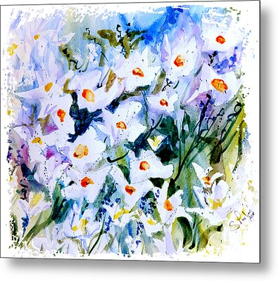 Metal Print featuring the painting Summertime by Steven Ponsford