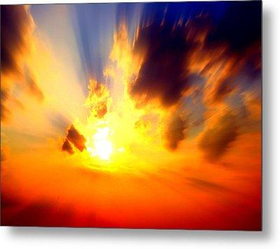 Sun Rays Metal Print by Jose Lopez