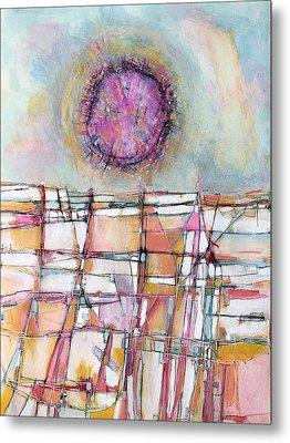Sun And City Metal Print by Hari Thomas