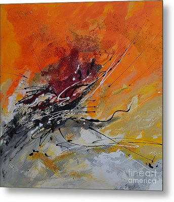 Sunrise - Abstract Metal Print