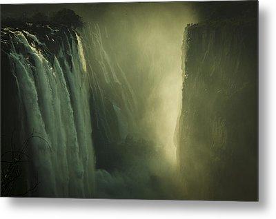 Sunrise At Victoria Falls Metal Print by Alison Buttigieg