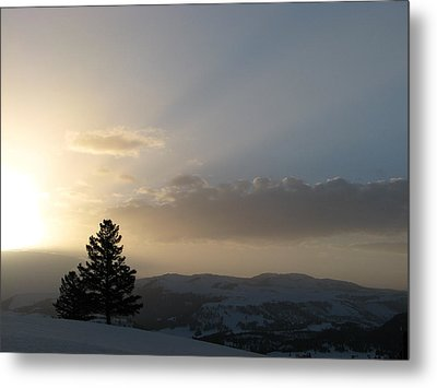Sunrise From Blacktail Plateau 05 Metal Print