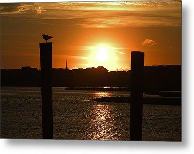 Sunrise Over Topsail Island Metal Print by Mike McGlothlen