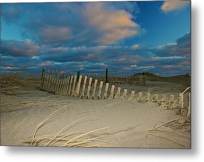 Metal Print featuring the photograph Sunset At Nauset Beach Cape Cod by Amazing Jules