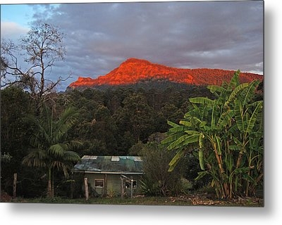 Metal Print featuring the photograph Sunset At Sphinx Rock by Ankya Klay