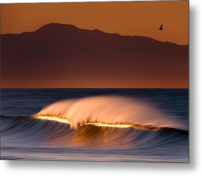 Metal Print featuring the photograph Sunset Breaking73a0456 by David Orias