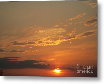 Sunset In St. Peters Metal Print by Kelly Awad