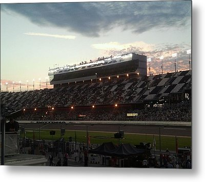 Sunset On Top Of Daytona Metal Print by Julie Wilcox