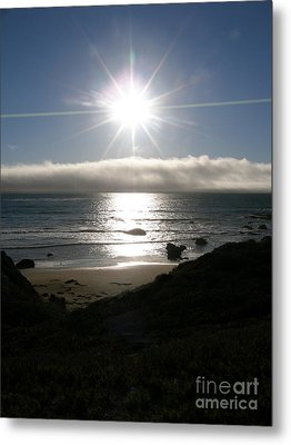 Metal Print featuring the photograph Sunstar by Bev Conover