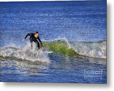 Surfing Usa Metal Print by Evelina Kremsdorf