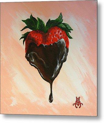 Sweet Heart Metal Print by Marco Antonio Aguilar