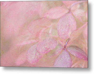 Swimming In Petals Metal Print