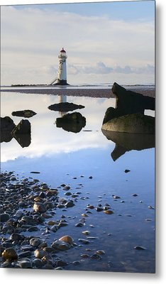 Talacer Abandoned Lighthouse Metal Print