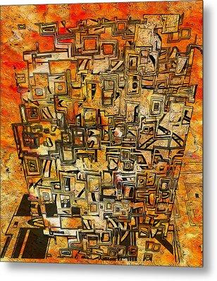 Tangerine Dream Metal Print by Jack Zulli