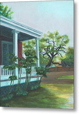 Tante Huppe Inn Metal Print by Ellen Howell