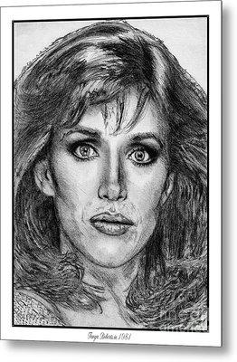 Tanya Roberts In 1981 Metal Print by J McCombie