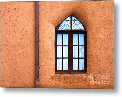 Taos Church 2 Metal Print by Kathlene Pizzoferrato