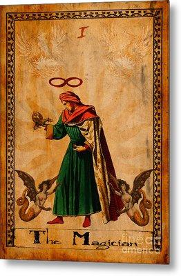Tarot Card The Magician  Metal Print by Cinema Photography