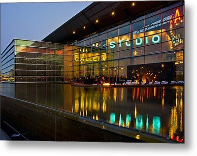 Tempe Center For The Arts Metal Print by Dave Dilli