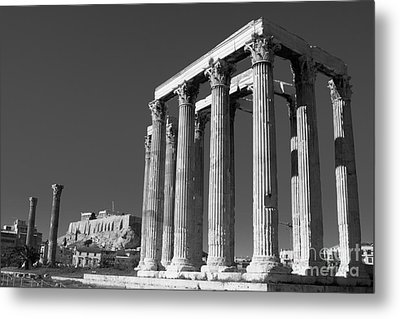 Temple Of Zeus Metal Print by Gabriela Insuratelu