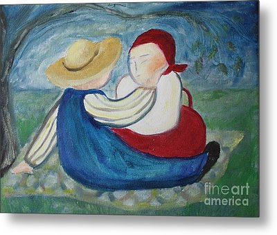 Tenderness Metal Print by Teresa Hutto
